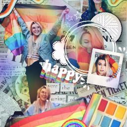 jessiepaege jessiepaegeedits father rainbow pride freetoedit