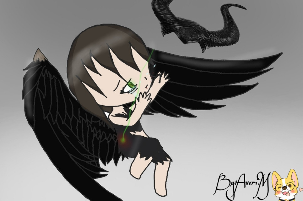 I just saw the move Maleficent and I just had to make this fan art!!!🤤❤