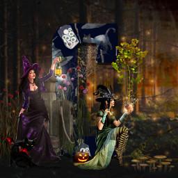 freetoedit alphabet halloween playingwithpicsart font