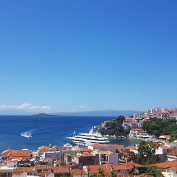 freetoedit city greece sea buildings