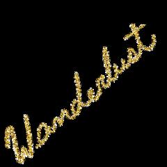 freetoedit wanderlust glitter glitterbrush stickers