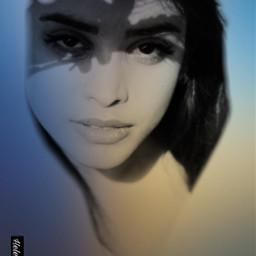 faceart girl lady fantasyart madewithpicsart freetoedit