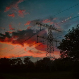 myphoto kinora traintravel sunset colorful