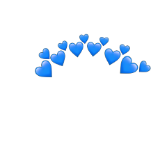 blue azul heart emoji heartemoji freetoedit