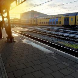 freetoedit remixit myphoto kinora trainstation