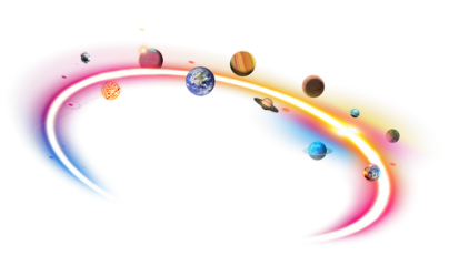 space planets overlay crown circle freetoedit