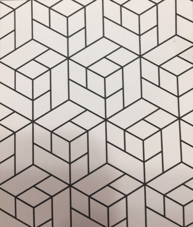 Do u see hexagons or 3-D cubes #freetoedit