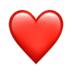 heart emoji red freetoedit