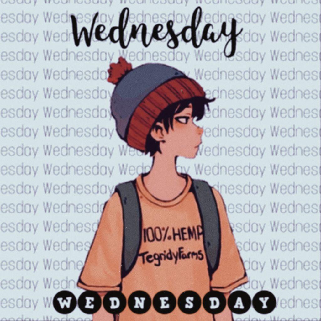 Wednesday ☺️ #stanmarsh #southpark #wednesday  #freetoedit