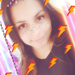 freetoedit sparklerremix shinegirl srclightning lightning