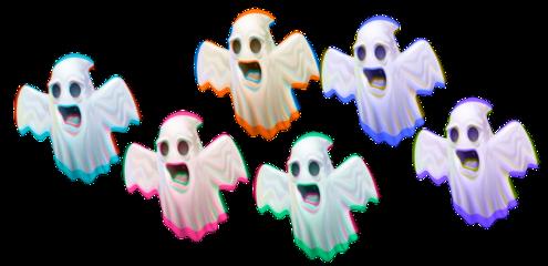 glitch vhs ghost halloween spooky freetoedit
