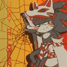 happyhalloween halloween2019 shadowthehedgehog shadow sonicthehedgehog freetoedit