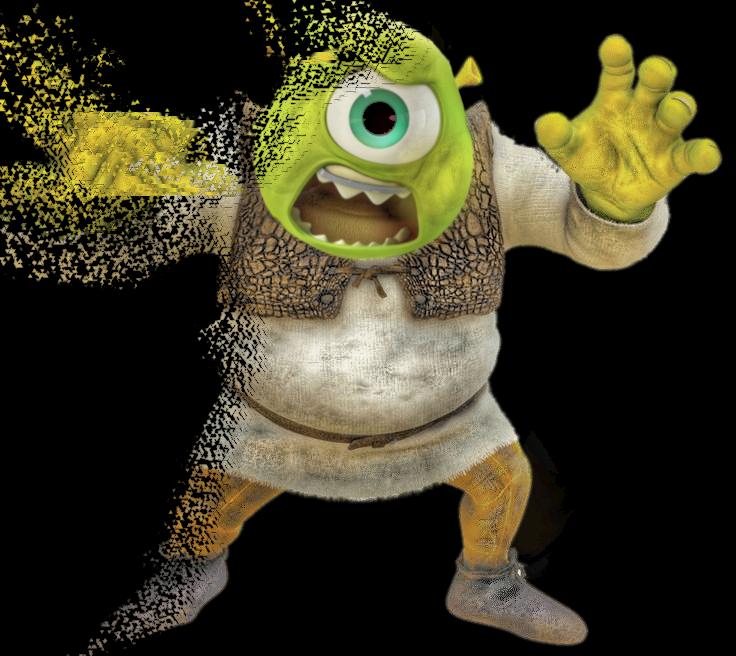Shrek Fanart Sticker By You54801