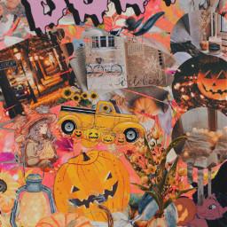 retrostyle aesthetic walppaper autumn halloweeniscoming freetoedit