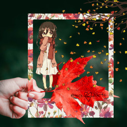 freetoedit mary_love_hearts anime automn coldweather ircfallmood
