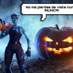fortnite games videogames halloween nigth freetoedit
