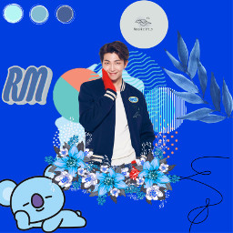freetoedit rm kimnamjoon bts leader