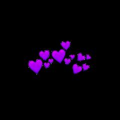 purpleheart purple heart heartcrown purpleheartcrown freetoedit