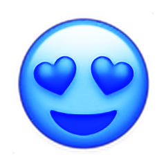freetoedit emoji love hearts hearteyes