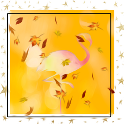 freetoedit number1 flamingo loveautumn