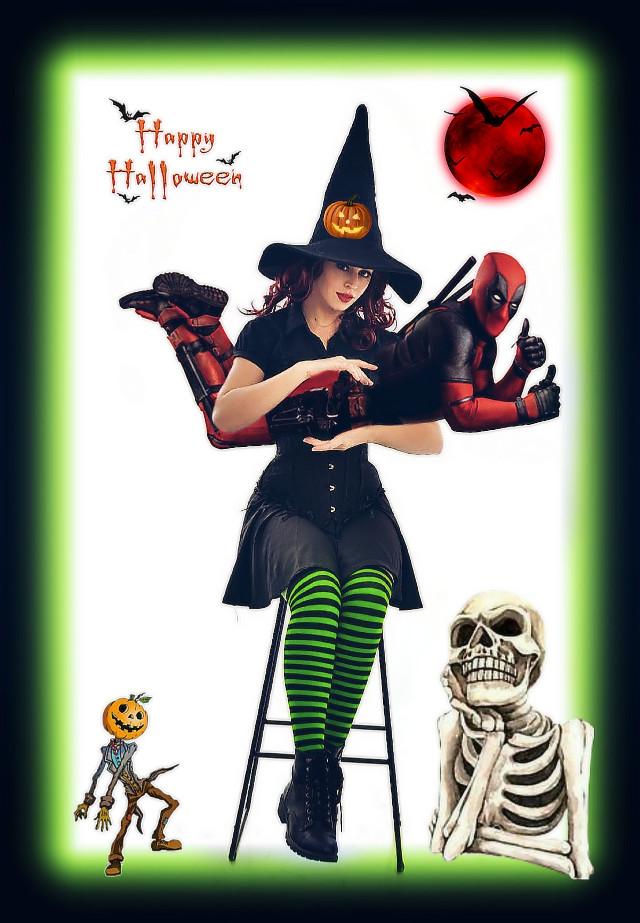 #freetoedit#halloween2019#fun#comedy#lol#halloween#witch#crazy#hot#marvel#deadpool#madewithpicsart#myedit#superhero @pa @freetoedit