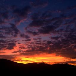 sunset atardecer red nature