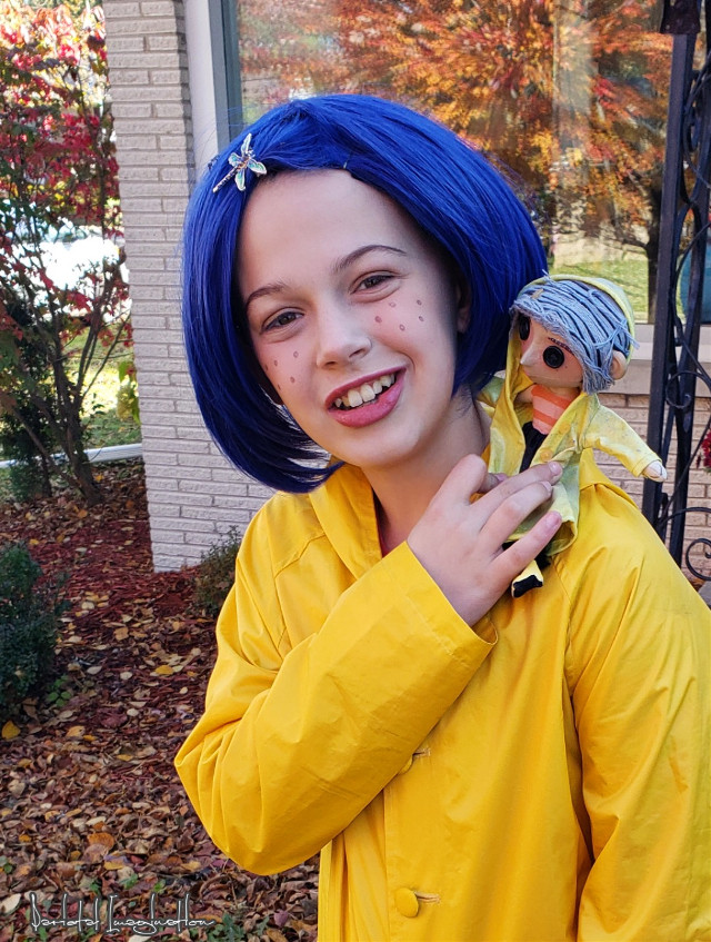 Photography and Editing by: Parietal Imagination Art  @pa #coraline #Bailey #doll #trickortreat #freetoedit  💗💗💗💗💗