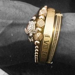 savetheoceans bracelet gold turtle bling