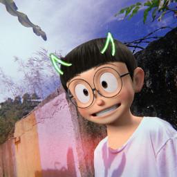 nobita-in-asian-tv freetoedit nobita
