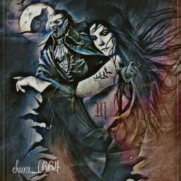 vampiros lunallena gatonegro noche terror