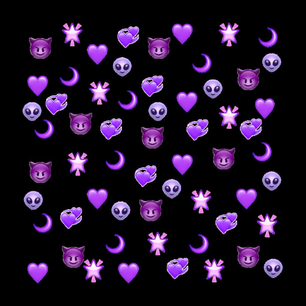 #freetoedit #万圣节 #halloween #恶魔 #evil #emoji #紫色 #purple
