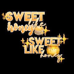 freetoedit edit sweet like honey