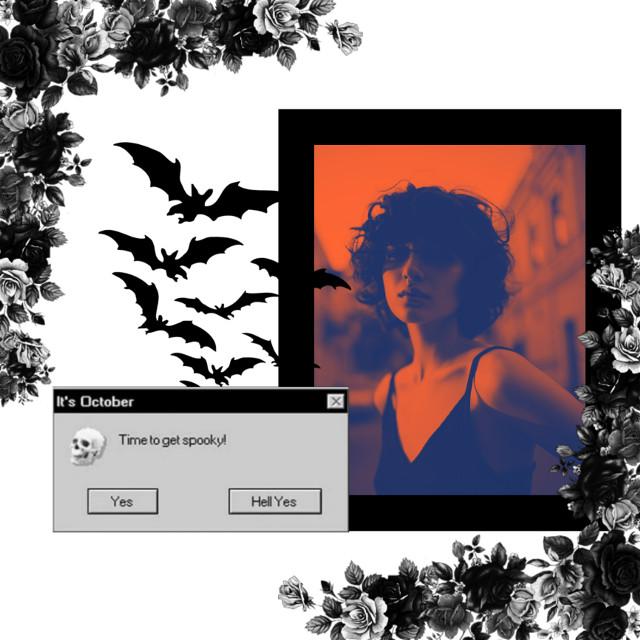 #freetoedit #replay #halloween #bat #spooky