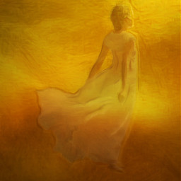 freetoedit gold woman goldbackground light