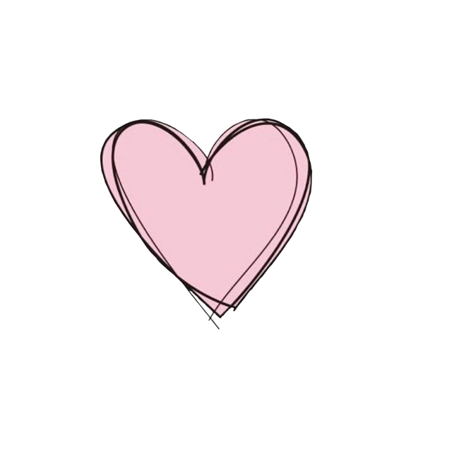 #heart #pink #lines #black #freetoedit