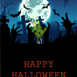 freetoedit happy halloween zombie