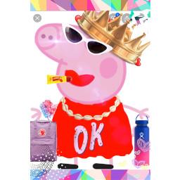 peppapig princes ok vsco queen freetoedit
