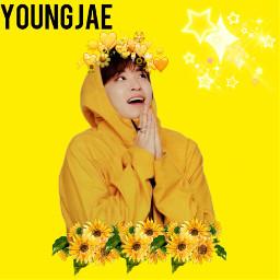 freetoedit got7 kpop yellow aestetic