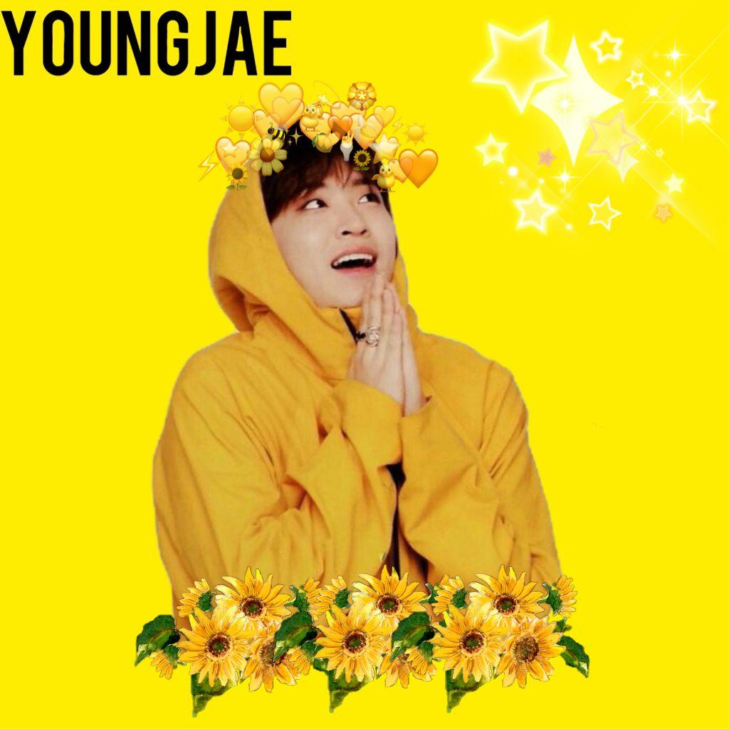 #freetoedit YOUNGJAE  #got7#kpop#yellow#aestetic#youngjae