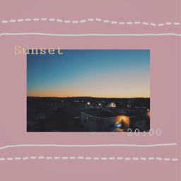 freetoedit retro retroeffect retrostyle sunset