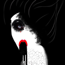freetoedit horror horrorart scary scaryart scaryface scaryfaces irccreepyface creepyface