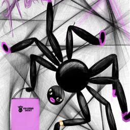 dchalloweencreatures halloweencreatures interesting spider shopping freetoedit