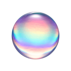 freetoedit rainbow bubble