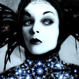 freetoedit myoriginalwork originalart conceptart womanportrait echalloweenspirit
