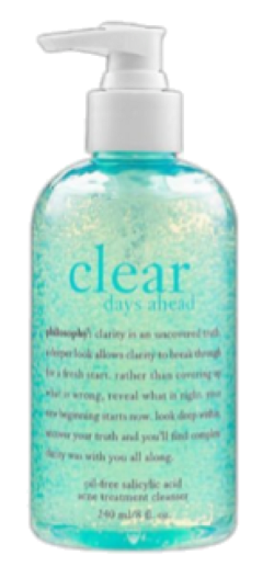 clear philosophy facewash skincare freetoedit