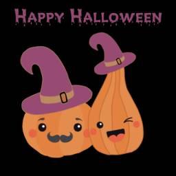 freetoedit halloween pumpkins witchhat hat