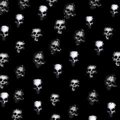 skull hallowen overlay freetoedit