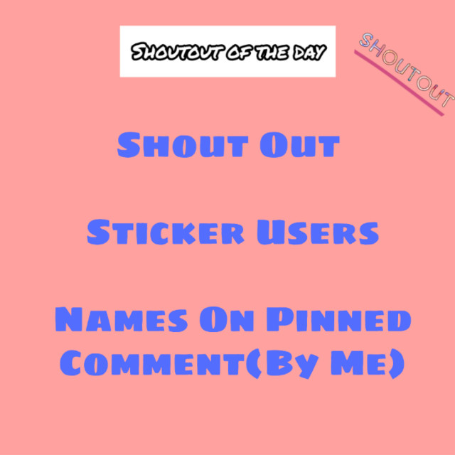 #freetoedit  Shout Out To.......   @strangerthings_2016  @pngsticker (PNG STICKER IS MY PARTNER) for Using my Sticker make sure to follow them! My Hashtag Message Stickers became soo famouse! Make sure to check those out i got  over 2,000 users