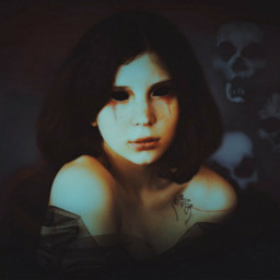 freetoedit scary spooky girl ghost scaryedit scaryeyes halloweenspirit
