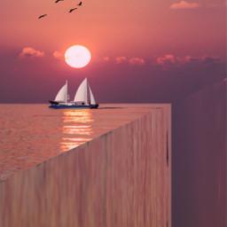 endofocean surreal surrealism fantasyart madewithpicsart freetoedit
